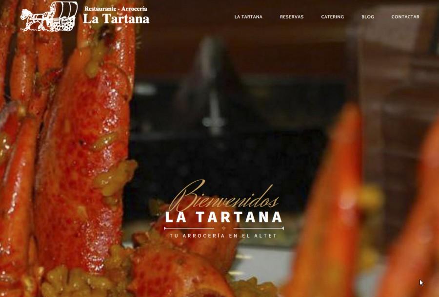 Nueva Web Restaurante La Tartana